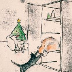 Santas-Cat
