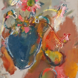 vase-with-flowers-and-2-pears